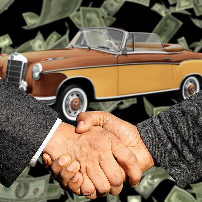selling a used car